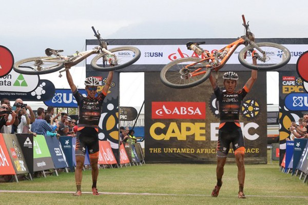 Cape Epic il Team Trek-Selle San Marco