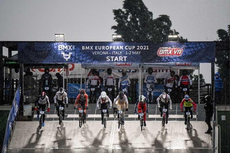 Gli azzurri per la Coppa del Mondo BMX a Verona