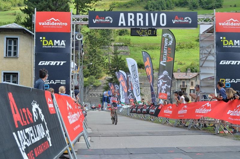Secondo sigillo di Medvedev alla Alta Valtellina bike Marathon