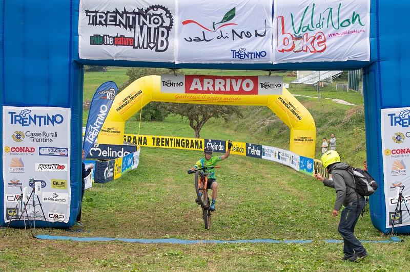 Valdinon Bike: vince Martino Fruet. Il Trentino mtb va ad Andrea Righettini